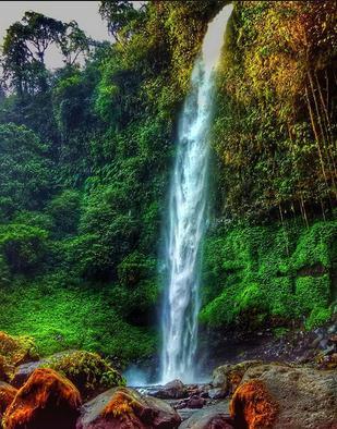 Tempat wisata air terjun lider banyuwangi