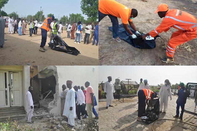 Suicide bombers attack Maiduguri, kill 16