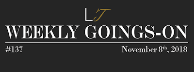 Weekly Goings-On #137 - Blackpool Hotels Newsletter - Blackpool Shows and Events November 9 to November 15