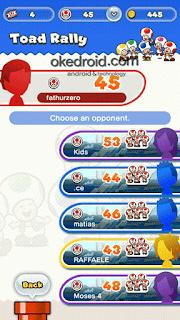 Game Mode Toad Rally Super Mario Run