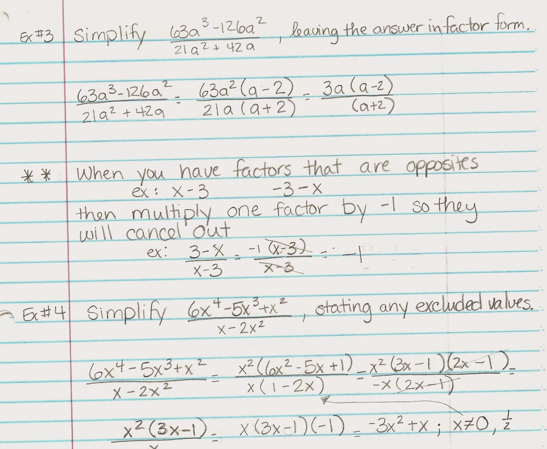 Algebra Alerts Algebra 1 And 2 Alg 2 Lesson 9 1 Notes