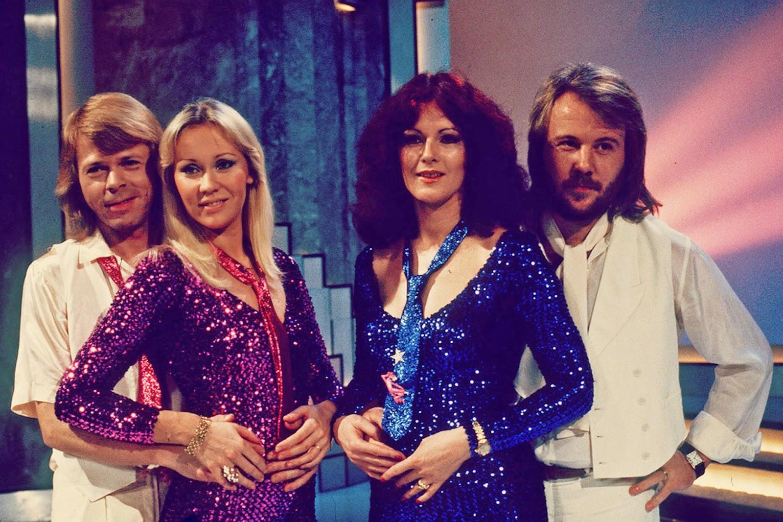 Björn, Agnetha, Anni-Frid y Benny, ABBA