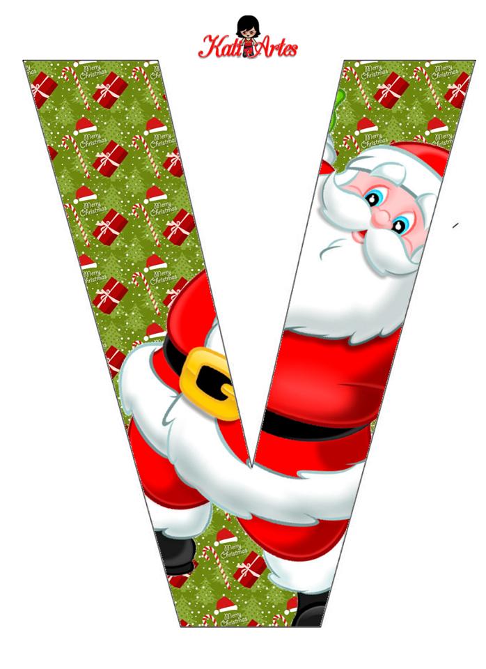 Alfabeto de Papa Noel. | Oh my Alfabetos!
