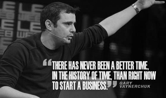 Gary Vaynerchuk Motivational Business Quotes Hustle Entrepreneur Start a Business Startup Hard Work Success Inspire