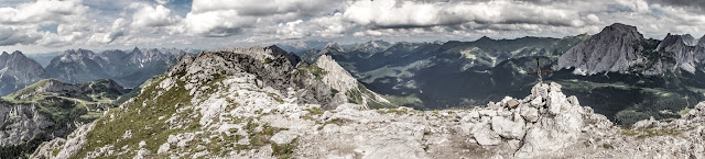 Berge Aussicht Scheibenkofel Monte Lastroni Sappada