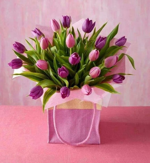 Floral Arrangements With Tulips 10