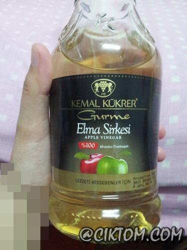 Cuka epal jenama Kemal Kukrer