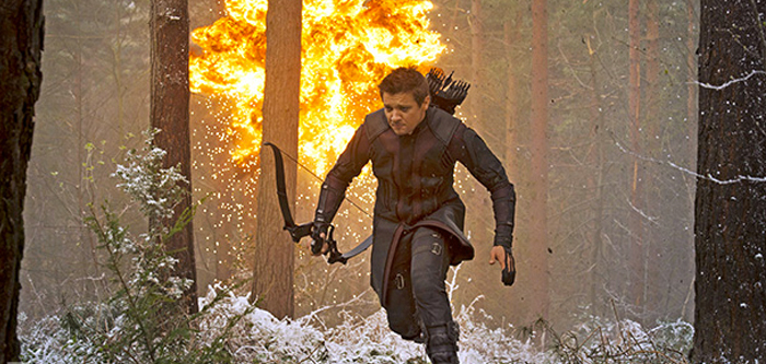 Hawkeye în Avengers: Age Of Ultron