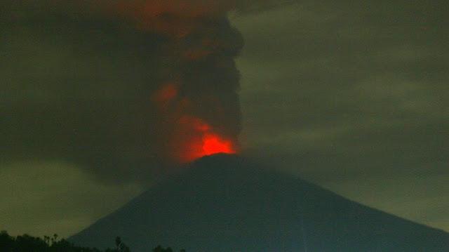 Info Gunung Agung Terbaru