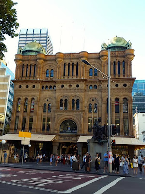 QVB in Town Hall Sydney