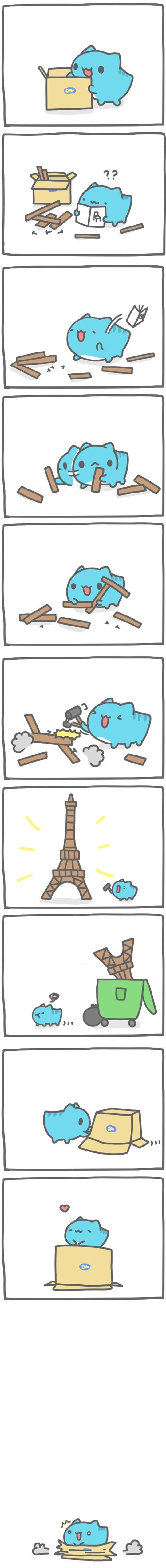 Truyện Mìn Lèo #117: Thiên tài xây dựng