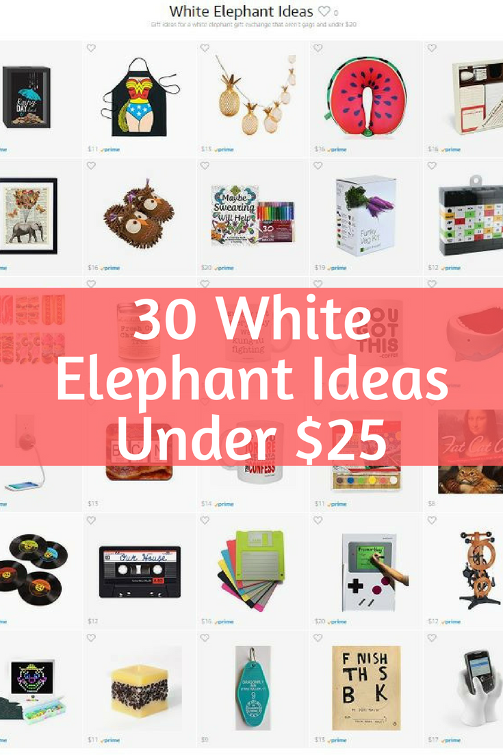 30 White Elephant Gift Ideas Under $25 on Amazon