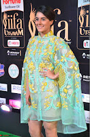 Isha Talwar in Transparent Cute Small mni dress at IIFA Utsavam Awards 2017  Day 2    HD Exclusive Pics 16.JPG