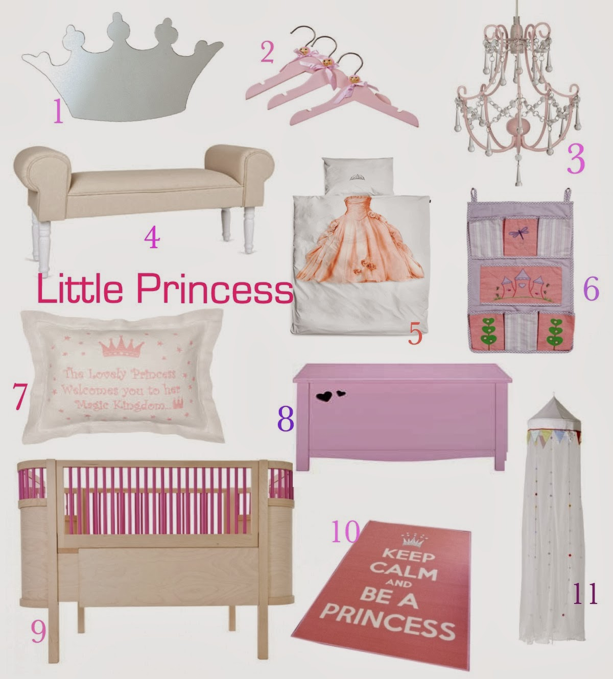 mamasVIB | V. I. BUYS: Create a Princess bedroom without a Disney character in sight! | Create a Princess bedroom without a Disney character in sight | princess kids room | nursery style | princess bedding | mamasVIb | kids bedroom