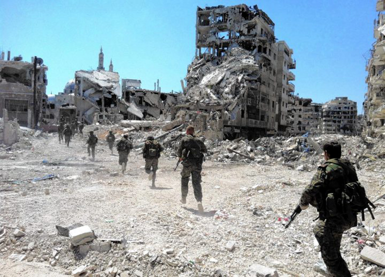 Operasi tentara Suriah