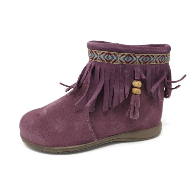 El mejor calzado infantil online y más barato  Botines mohicanos con ... ddc28828bace