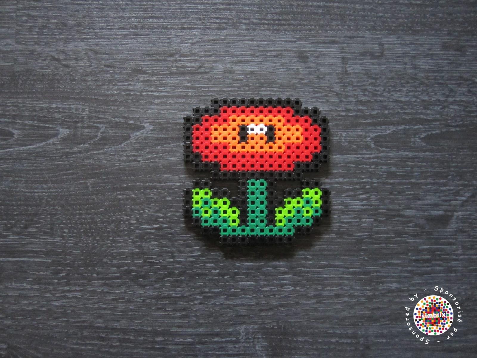 Super Mario Fleur De Feu Dounets Creations