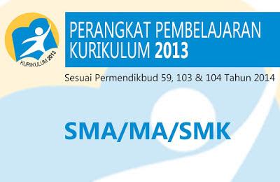 Download Kumpulan RPP SMA, MA, SMK Kurikulum 2013 Gratis
