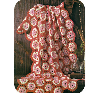 Crochet Loop Stitch Granny Afghan pattern