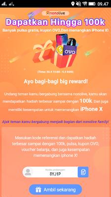 cara download aplikasi nonolive android
