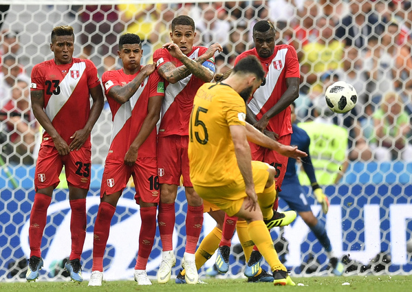 Australia out of World Cup after loss to Peru