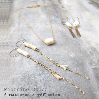 Nouvelle collection bijoux Médecine Douce
