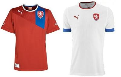 Camisaria Futebol Clube  Camisa da República Tcheca para a Eurocopa 8bcca7a67e438