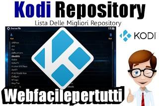 Kodi Repository 2017 - Elenco delle Migliori Repo Per Kodi