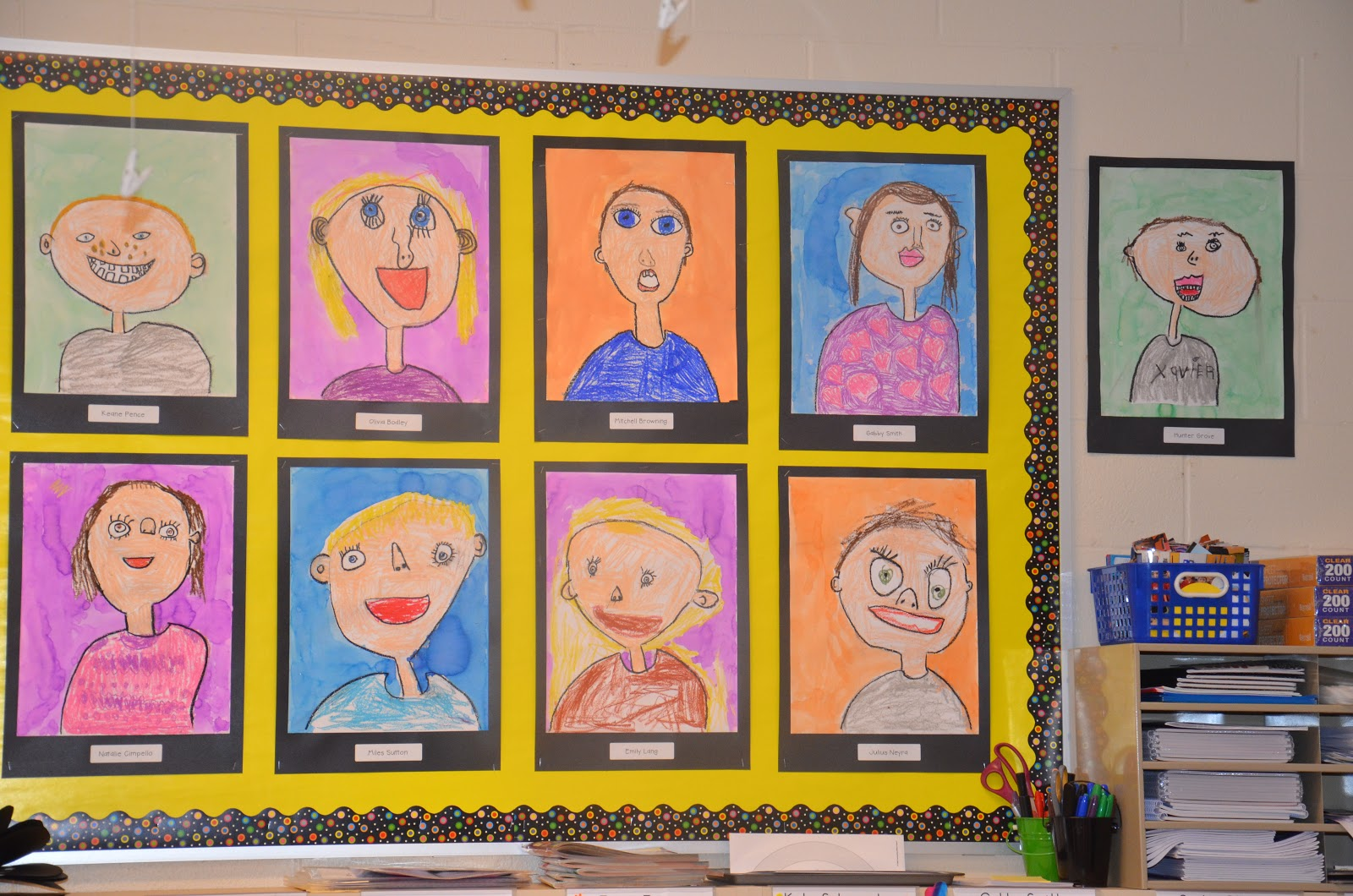 A Place Called Kindergarten Our Self Portraits