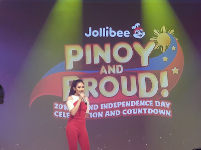 Sarah Geronimo for Jollibee #PinoyandProud