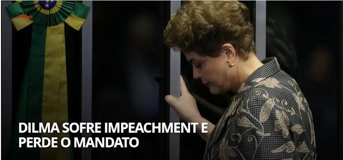 Senado aprova impeachment, Dilma perde mandato e Temer assume