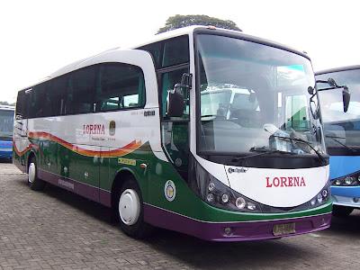 Harga Tiket Bus Lorena Terbaru