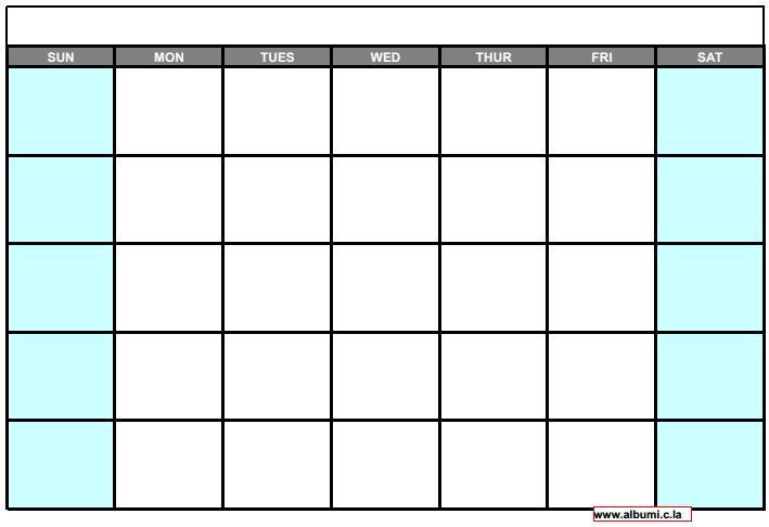 all calendar 2016 for print