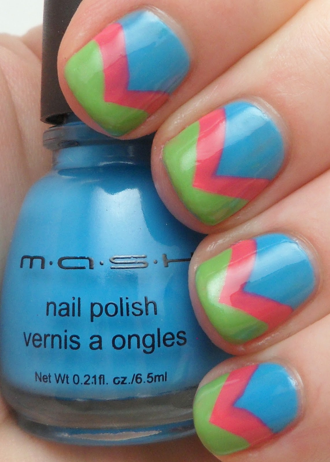 MASH Scented Neon Polishes! - Adventures In Acetone