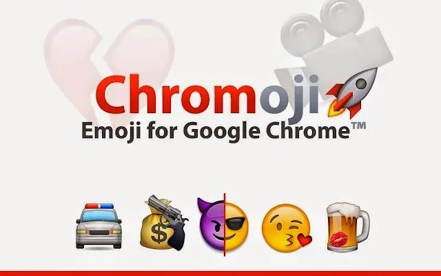 اضافة Emoji ايموشن على متصفح جوجل كروم
