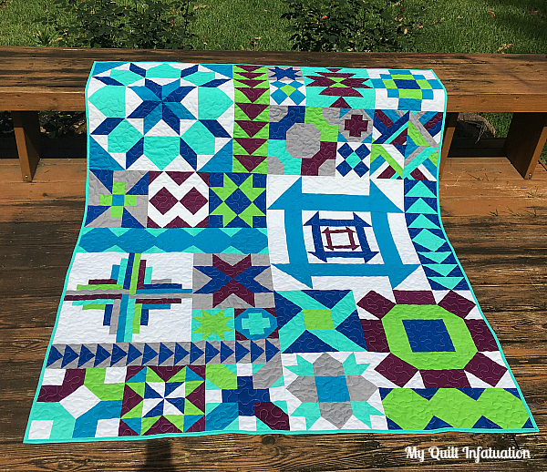 My Quilt Infatuation Classic Meets Modern QAL Interesting Block Of The Month Quilt Patterns