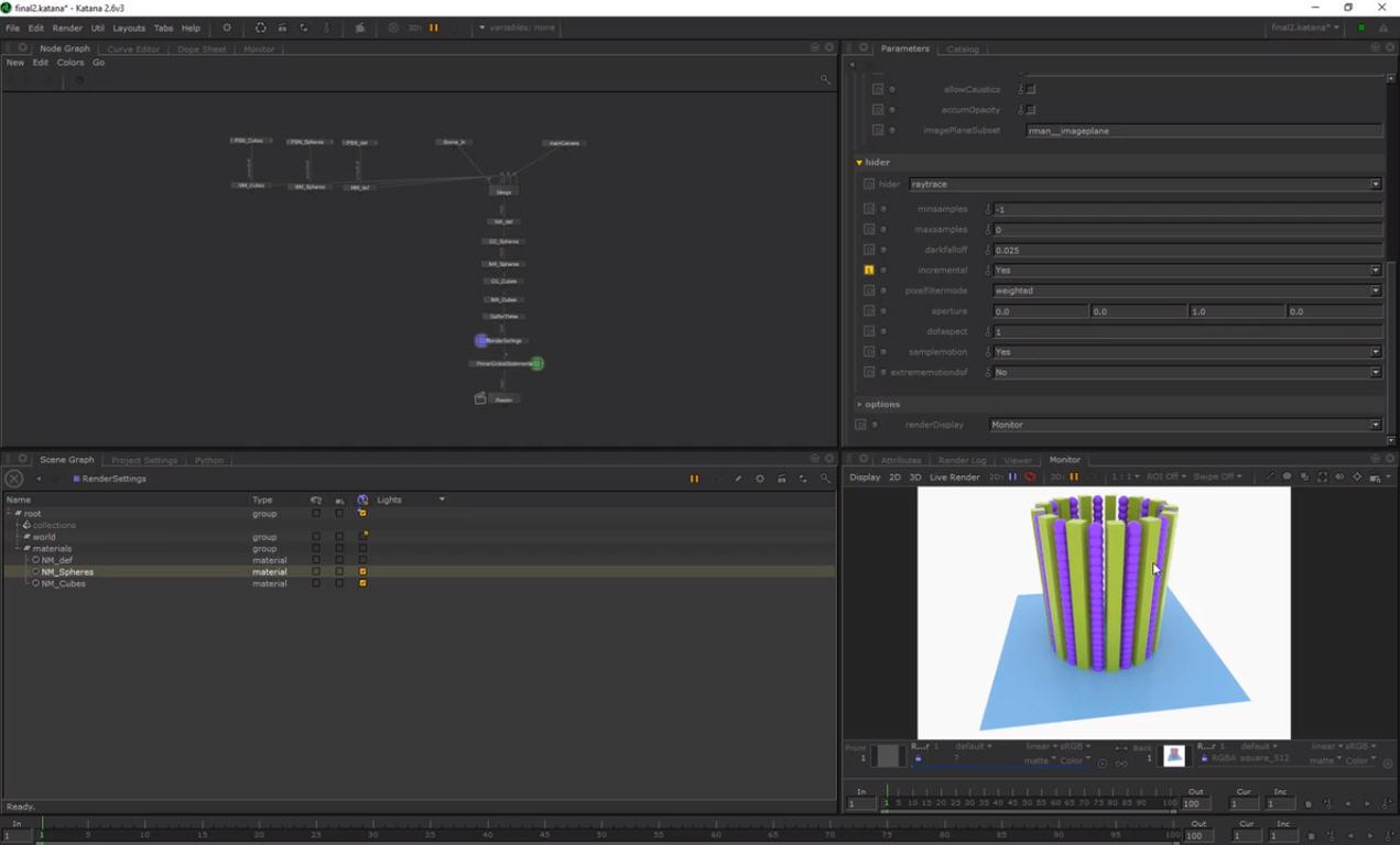 Introduction to Katana using Cinema 4D and Alembic | CG TUTORIAL