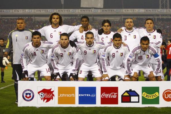 Formación de Venezuela ante Chile, Clasificatorias Sudáfrica 2010, 5 de septiembre de 2009