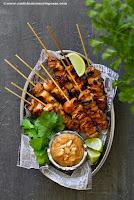 Aasialaiset kanavartaat ja satay-kastike 1