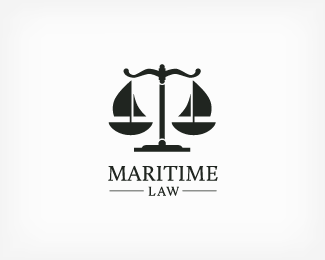 Maritime Law Logo  design style