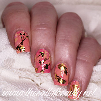 Boho Smoosh Manicure