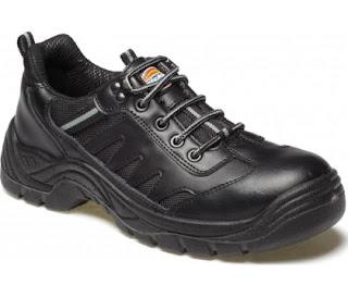 zapatos de seguridad negros