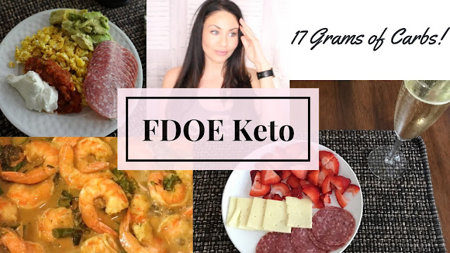 Full Day of Eating Ketogenic Meal Ideas - Keto Under 20 Grams of Carbs