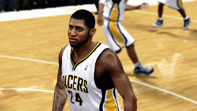 NBA 2K13 Paul George New York against Indiana