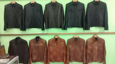 Gambar jaket kulit asli