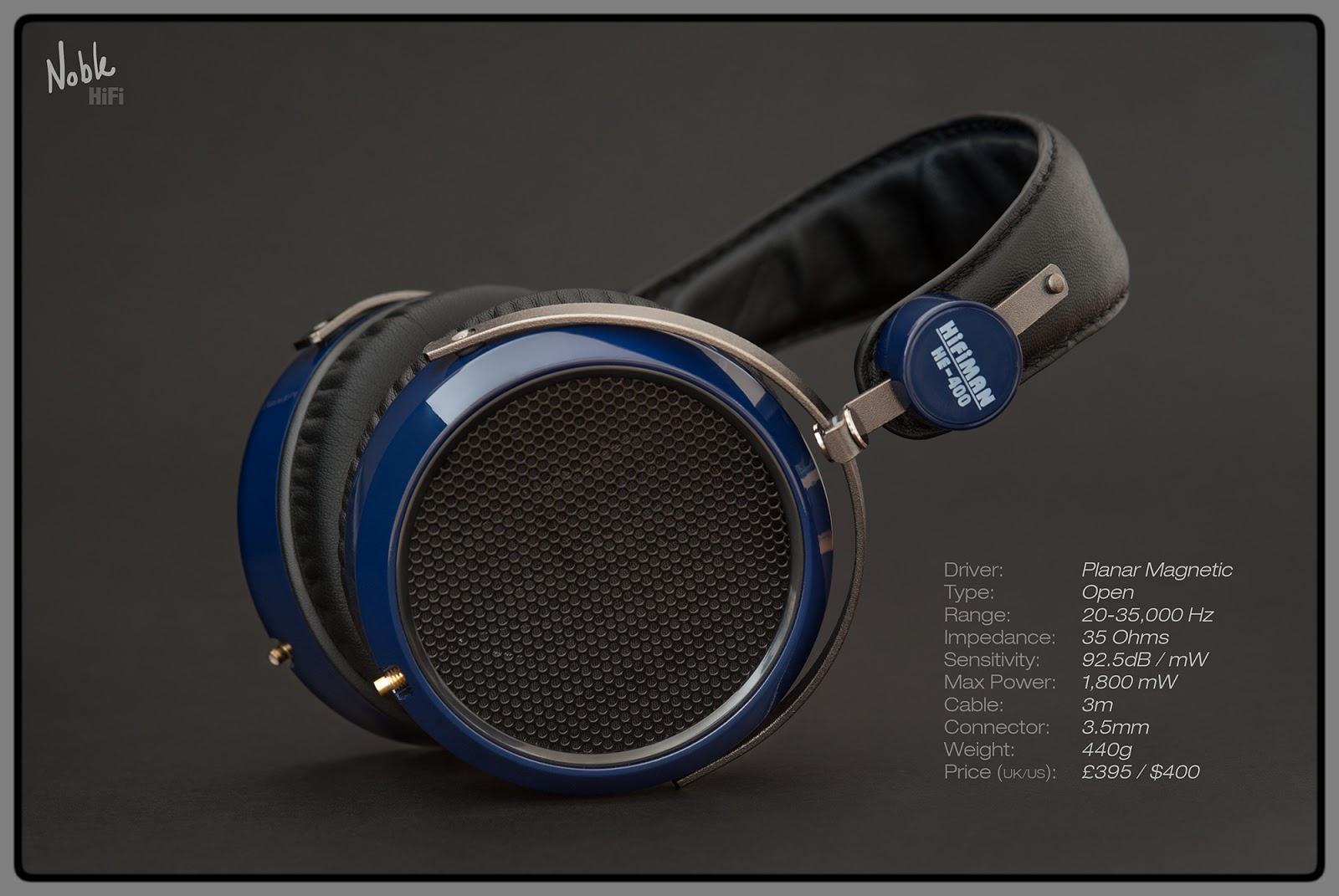 HIFIMAN Black Replacement Focus Ear Pads For HE400i//HE500// HE6//HE-5LE Headphones