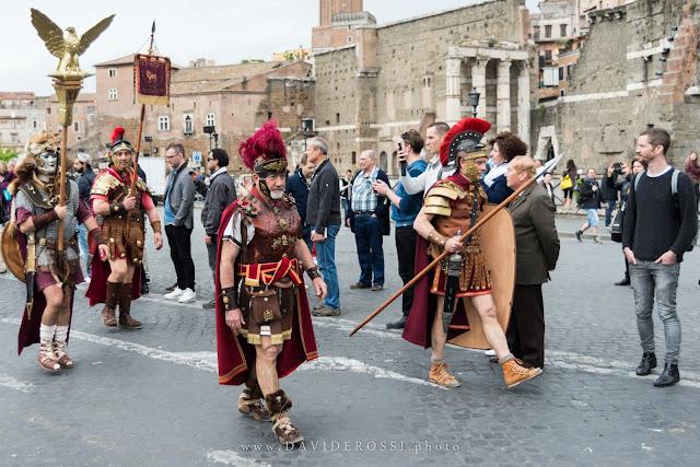 Natale di Roma 2016 - Sfilata del Gruppo storico romano
