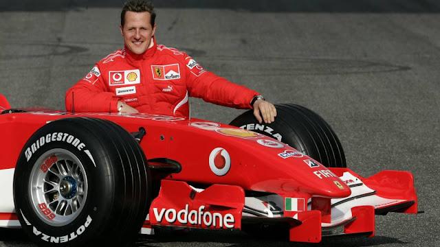 Schumacher, leyenda