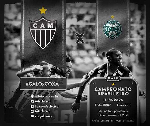 Campeonato Brasileiro - Atlético MG x Coritiba