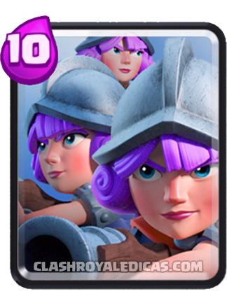 Nova Carta Clash Royale - Carta Rara